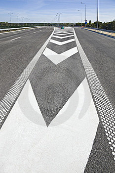 Empty Highway Royalty Free Stock Photo - Image: 23570115