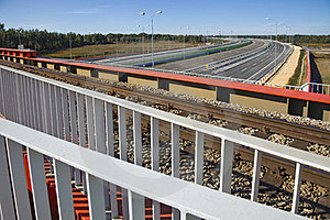 Bridge And Highway Royalty Free Stock Photos - Image: 23570148