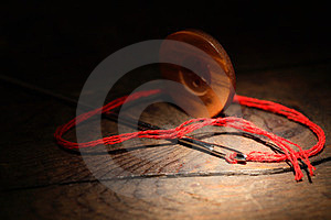 Needle And Button Royalty Free Stock Photography - Image: 23575867