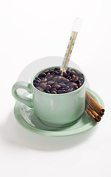 A Cup Of Coffee Royalty Free Stock Image - Image: 23578386