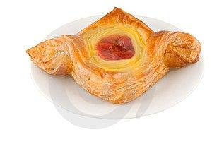 Red Cherry Danish Pie Stock Image - Image: 23584461