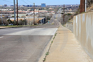 Highway Across City Royalty Free Stock Photography - Image: 23587337