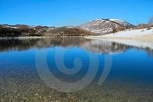 Blue Lake Royalty Free Stock Images - Image: 23589319