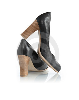 Stylish Woman�s Shoes Stock Images - Image: 23591114