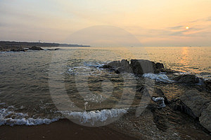 Sunrise Over The Sea Stock Photos - Image: 23593143