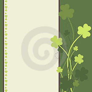 St Patrick's Day Card Royalty Free Stock Photography - Image: 23593197