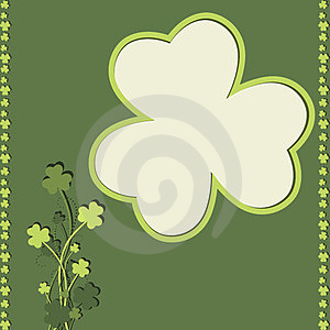 St Patrick's Day Card Royalty Free Stock Image - Image: 23595496