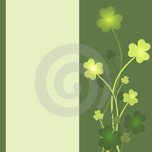 St. Patrick's Day Card Royalty Free Stock Image - Image: 23598026