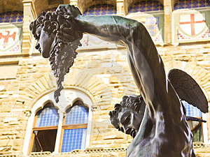 Perseus With The Head Of Medusa Stock Images - Image: 23599844