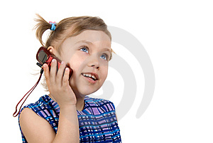 Calling To Mom Royalty Free Stock Images - Image: 2360799