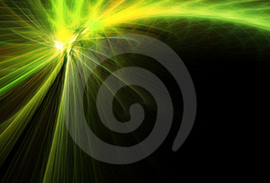 Green Comet Royalty Free Stock Photos - Image: 2360858