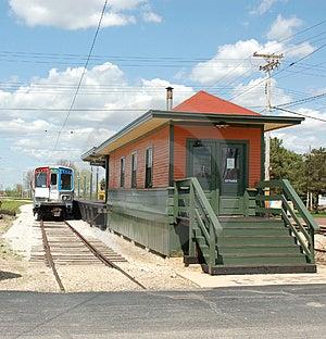 Depot Stock Image - Image: 2361841