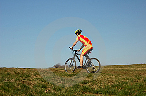 Biking Stock Foto's