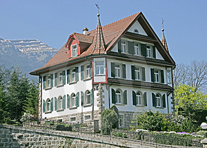 Nice Swiss House 13 Royalty Free Stock Photos - Image: 2367238