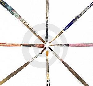Isolated Style Brushes Stock Images - Image: 2368964