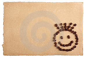 Paper And A Smiling Face Royalty Free Stock Images - Image: 23600339