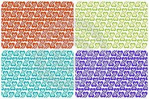 Valentine Colorful Backgrounds Stock Photo - Image: 23603430