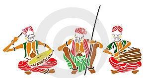Indian Folk Artist Stock Images - Image: 23607814
