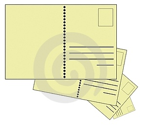 Blank Postcards Stock Photo - Image: 23616000