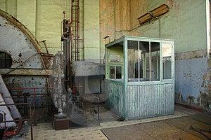 Engineroom Of Coalmine Waterschei Royalty Free Stock Photos - Image: 23616608