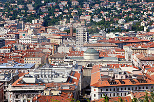 Panoramic View Of Triest City, Italy Royalty Free Stock Photo - Image: 23622035