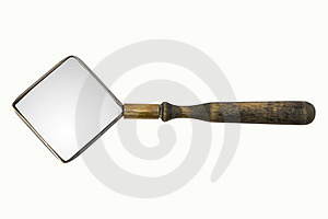 Magnifying Glass Royalty Free Stock Photography - Image: 23627967