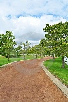 Winding Path Stock Image - Image: 23636941