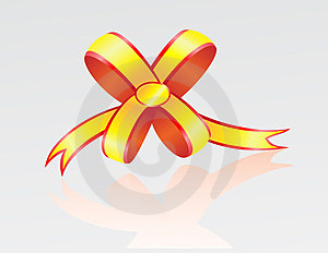 Bow From A Tape Royalty Free Stock Photos - Image: 23639068