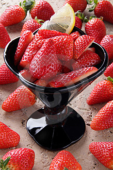 Strawberries Cup Stock Images - Image: 23642054