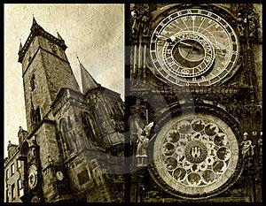 Prague Astronomical Clock Stock Image - Image: 23646331