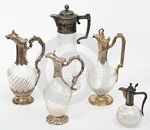 Antiquarian Jugs Royalty Free Stock Image - Image: 23661206