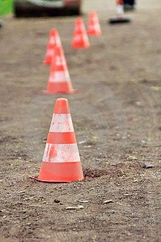 Traffic Cones Stock Photos - Image: 23661243