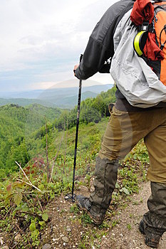 Hiker Royalty Free Stock Photos - Image: 23683518