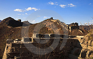 Relic Of The Great Wall Stock Image - Image: 23685041