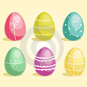 Easter Eggs Stock Image - Image: 23689501