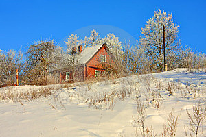 House On The Hill Stock Image - Image: 23689791