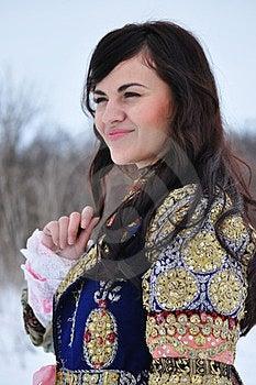 Portrait Of A Woman Stock Image - Image: 23692151