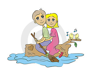 Life Is A River Stock Images - Image: 23697864