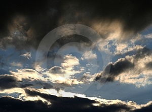 Cloudy Sky Stock Images - Image: 2371414