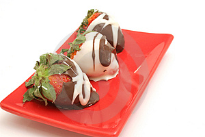 Chocolate Covered Strawberrys Royalty Free Stock Photos - Image: 2374778