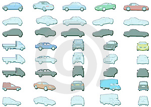 Car Illustrations Royalty Free Stock Photography - Image: 2375997