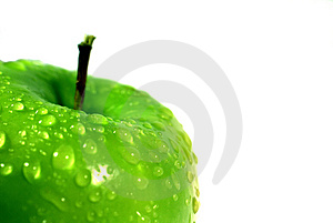 Green Apple 2 Royalty Free Stock Photos