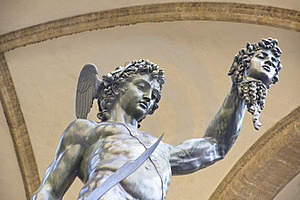 Perseus With The Head Of Medusa Royalty Free Stock Image - Image: 23700536
