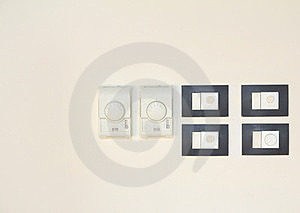 Switch On Wall Royalty Free Stock Photos - Image: 23717468