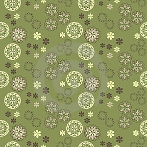 Seamless Vector Spring Pattern Royalty Free Stock Images - Image: 23722659