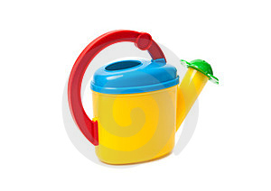 Children's Watering Can. Stock Photography - Image: 23722972