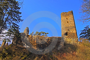 Ruin Of The Castle Libstein Stock Photos - Image: 23728363