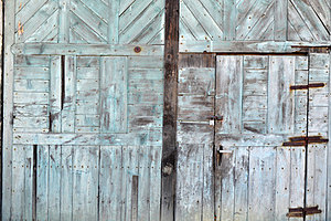Wood Structure Door Stock Image - Image: 23731771