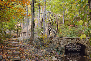 Historic Water Wheel Royalty Free Stock Photography - Image: 23732907
