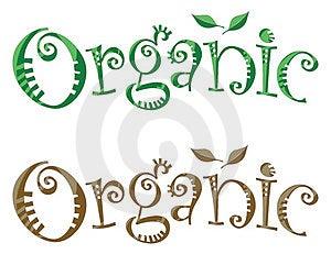 Organic Heading Royalty Free Stock Photo - Image: 23742915